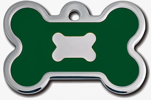 Bone Lg Epoxy Fil Emerald Green 7717-63