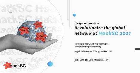 HackSC 2021 Facebook Cover