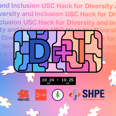 USC Hack for Diversity + Inclusion Instagram Post