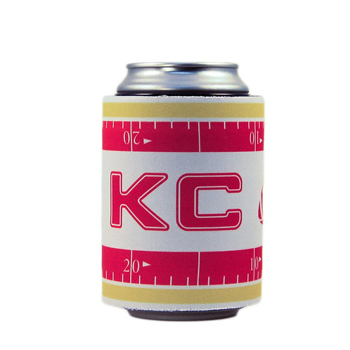 KC Retro-Football Slap Wrap Insulator
