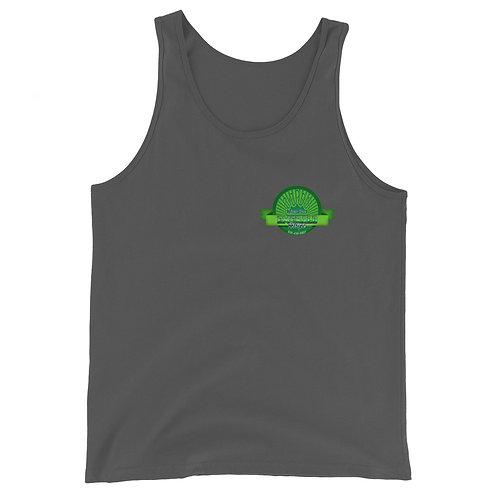 Emerald Stripe Unisex Tank Top