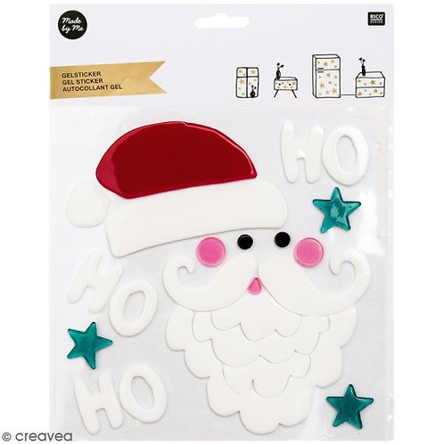 Santa Gel Stickers