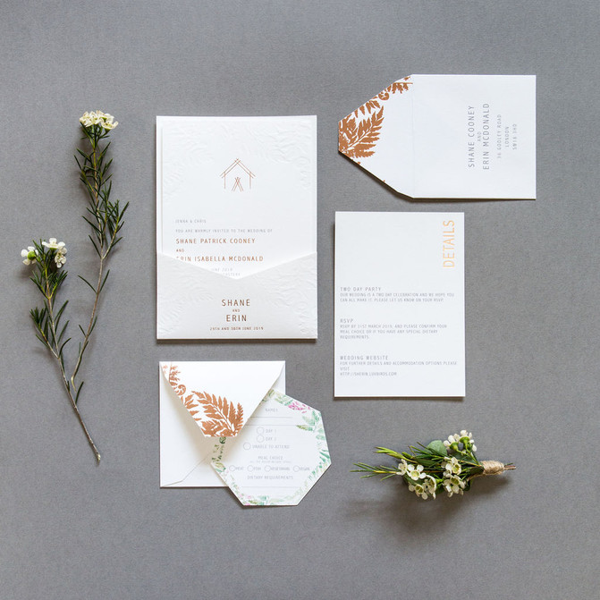 Stationery Stories - Erin & Shane