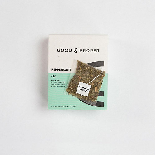 Good & Proper Peppermint Tea