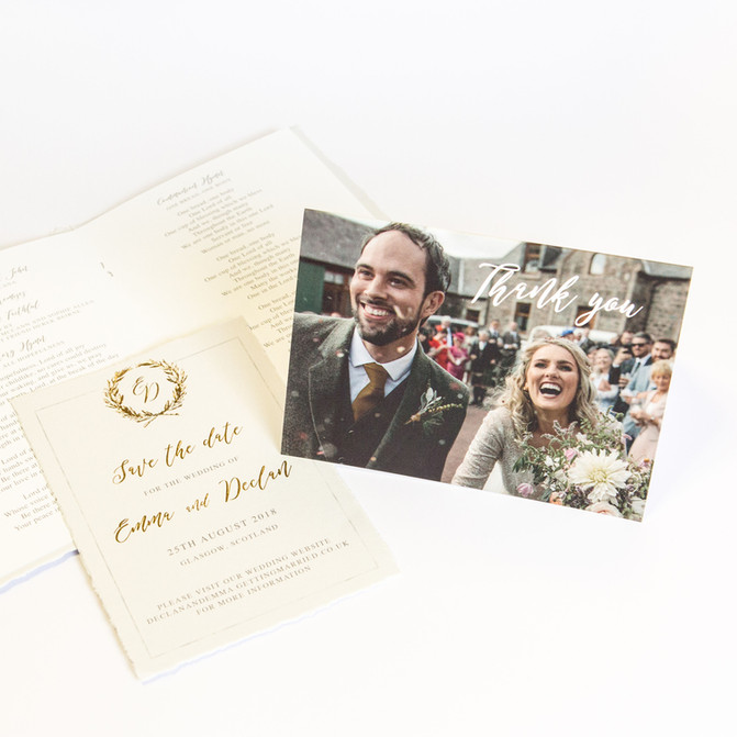 Stationery Stories - Emma & Dec