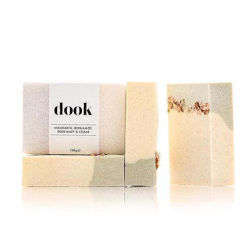 dook Mandarin, Bergamot, Rosemary & Cedar Soap