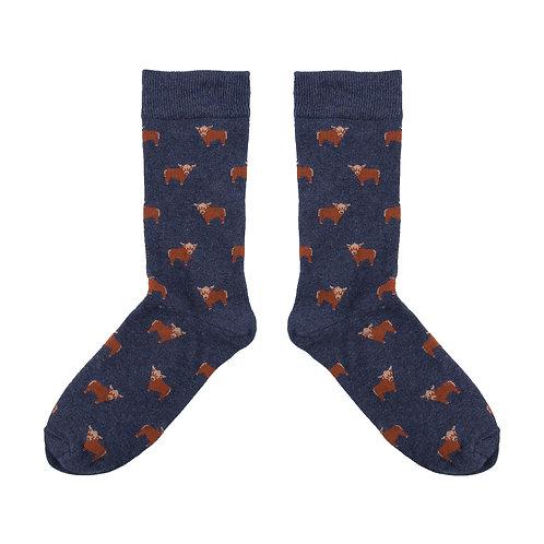 Men's Highland Cow Socks