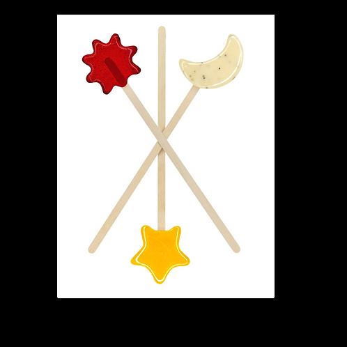 Tutu Spot Designer Lollipops - Mini Pops - Sky Magic