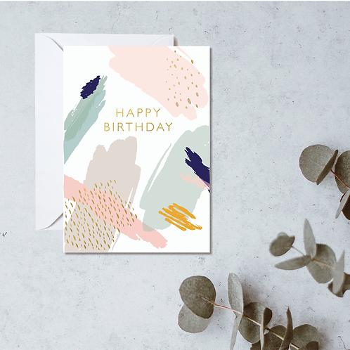 Happy Birthday Card (multi)