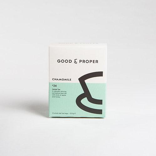 Good & Proper Chamomile Tea