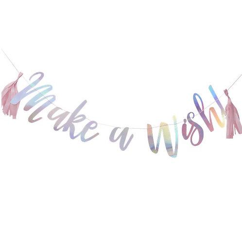 Make a wish banner