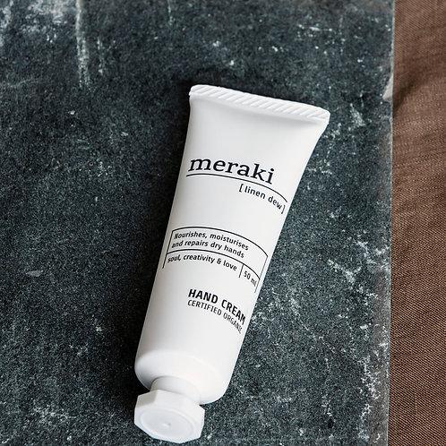Meraki Hand Cream, Linen Dew