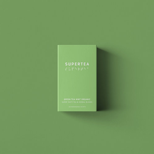 Supertea Green Tea Mint Organic