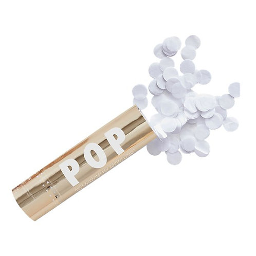 Gold Wedding Biodegradable Confetti Cannon