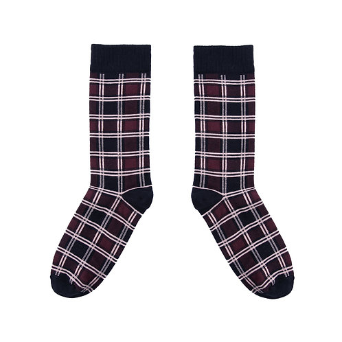 Men's Tartan Red Socks
