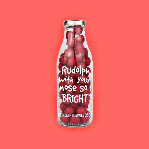 'Rudolph with your nose so bright' Sweets - 350g