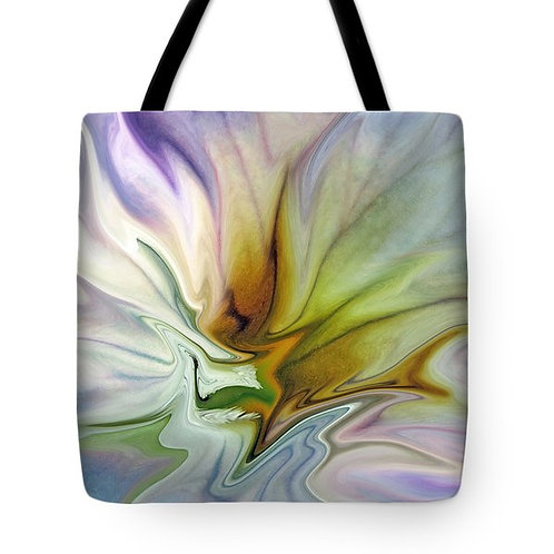 colorful abstract tote bag by Suzy 2.0