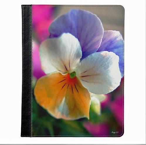 Funny Face Flower Tablet Case