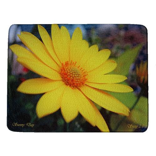 Yellow Daisy Cutting Board by Suzy 2.0
