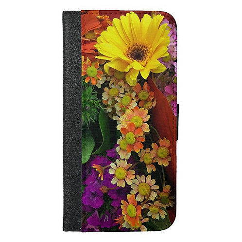 Painted Shades of Happiness Wallet Phone Case