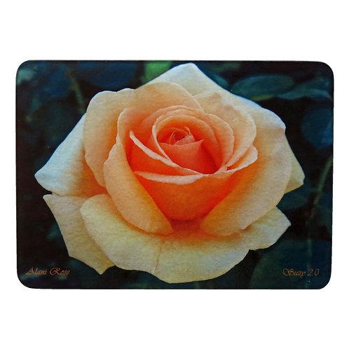 Pale Orange Rose Cutting Board by Suzy 2.0