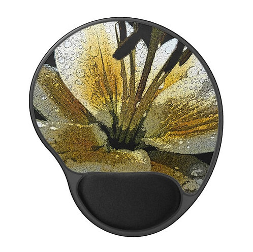 City Life - Flower Gel Mouse Pad