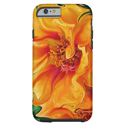 Flamenco Floral Tough iPhone Case