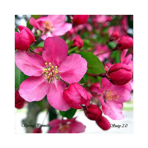 Spring Promise Floral Tile
