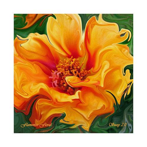 Flamenco Floral Tile