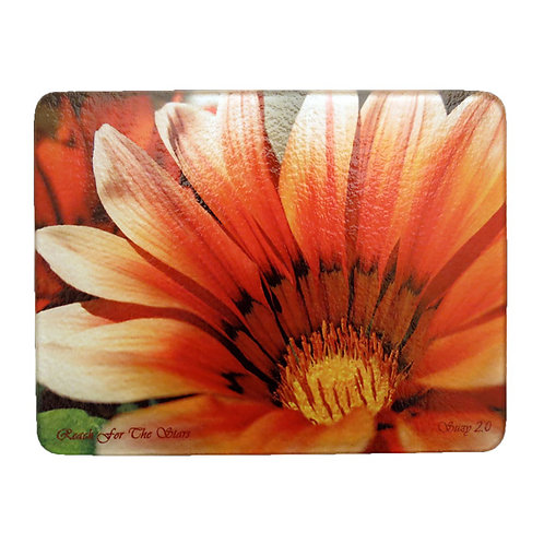 Orange African Daisy Cutting Board by Suzy 2.0