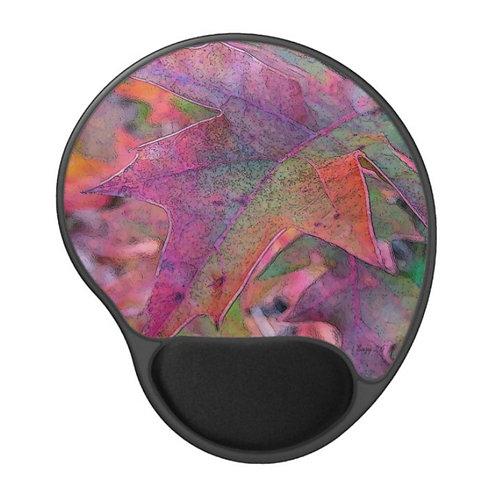 Color Explosion - Leaf Gel Mouse Pad