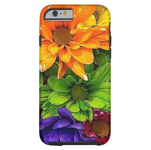 Blooming Kaleidoscope Tough iPhone Case