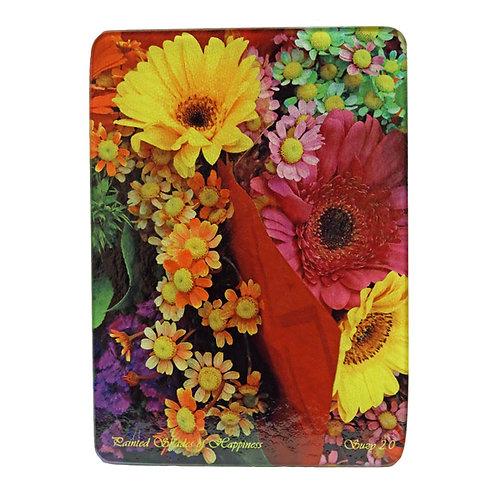 Multi-Colored Daisy Cutting Board by Suzy 2.0