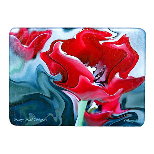 Abstract Tulip Cutting Board by Suzy 2.0