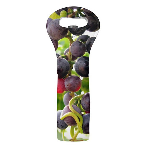 red grape wine tote by Suzy 2.0