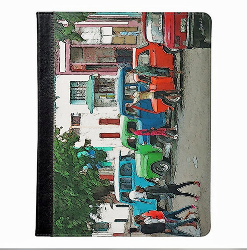 Cuban Life Scenic Tablet Case