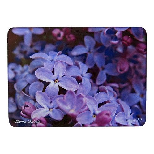 Purple Lilac Cutting Board by Suzy 2.0