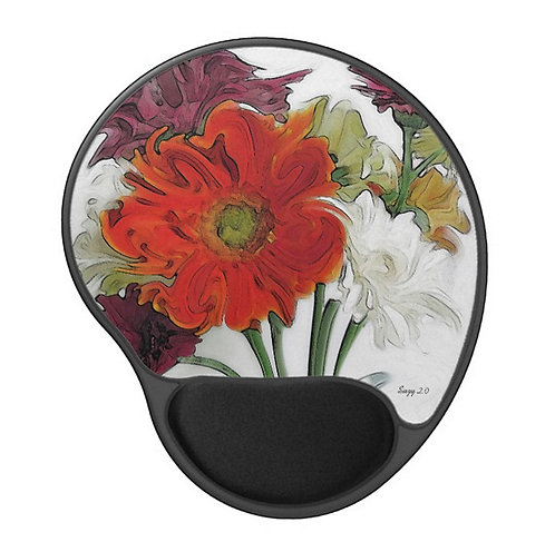 Hot Shots Jazz - Flower Gel Mouse Pad