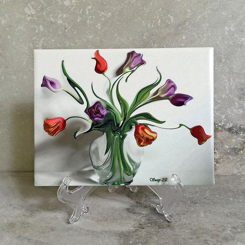 Farfalle Valzer Floral Tile