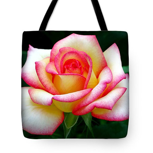 Peace Rose tote bag by Suzy 2.0