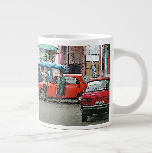 Suzy 2.0 Cuban Life Car Mug Right