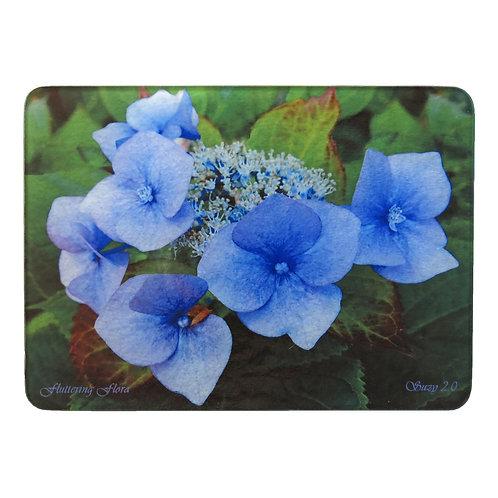 Blue Hydrangea Cutting Board by Suzy 2.0
