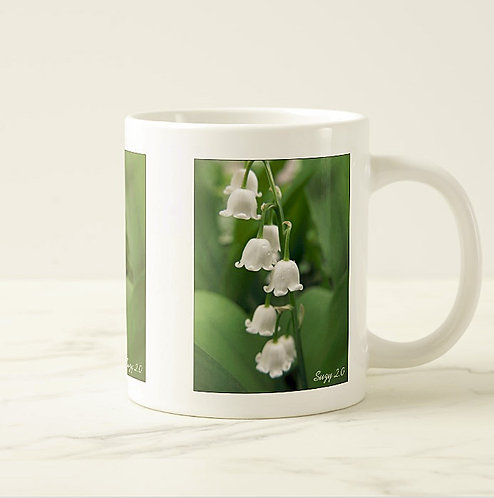 Suzy 2.0 Belles of Spring Lily of The Valley Mug Left