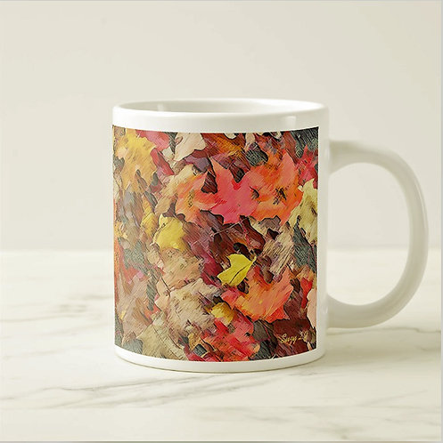 Suzy 2.0 Never Stop Changing Leaf Mug Right