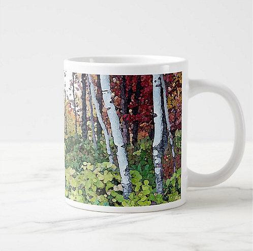 Suzy 2.0 Fall Undercover Landscape Mug Right