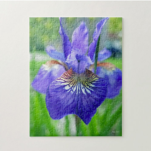 Blue Siberian Iris puzzle by Suzy 2.0