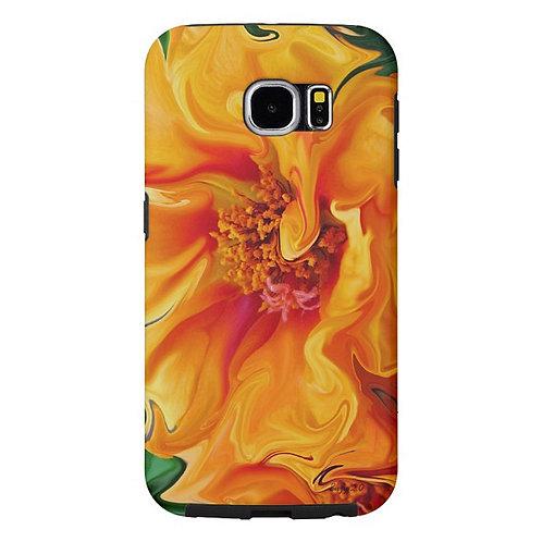 Flamenco Floral - Samsung Phone Case