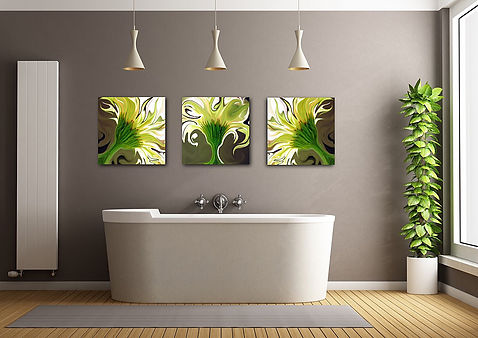 Fanciful Floral Fine Art