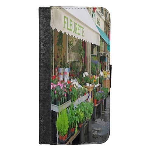 La Fleur Wallet Phone Case