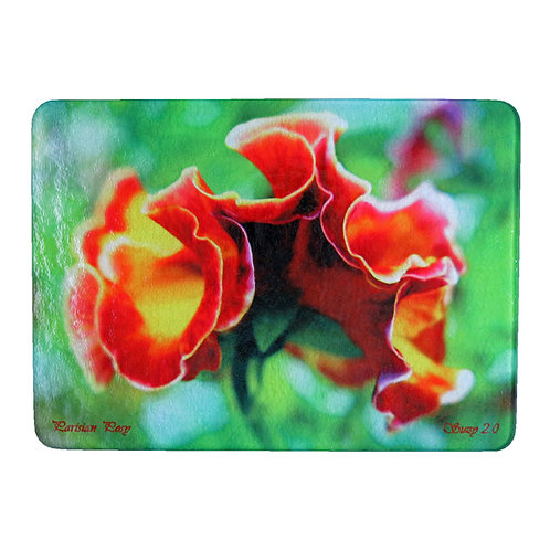 Pansy Cutting Board by Suzy 2.0